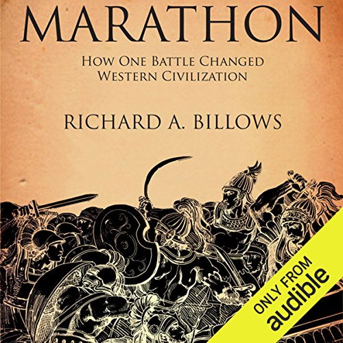 Marathon audiobook cover art