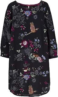 joules black woodland floral
