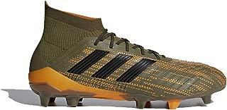 adidas Predator 18.1 FG Cleat - Men's Soccer 9 Trace Olive/Core Black/Bright Orange