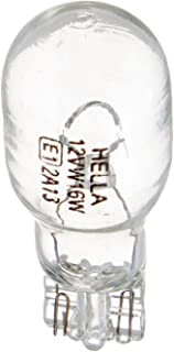 HELLA 921TB Standard-16W Standard Miniature 921 Bulbs, 12V, 16W, 2 Pack