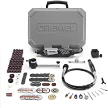 Dremel Gift Kit- Rotary Tool with 3 Attachments and 100 Accessories- Micro Sander, Wood..