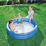 Bavaria Home Style Collection- Kinderpool Planschbecken Schwimmbad Family Pool Planschbecken Babypool Baby Pool Familienpool Schwimmingpool Kinderplanschbecken Badespaß - ca. 152 X 30 cm (blau)