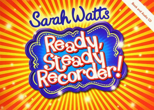 Ready, Steady Recorder! (Music Book)