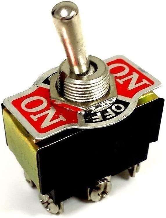 Toggle Switch Center-Off 20AMP EC-1520 DPDT-CO ON-OFF-ON Car New