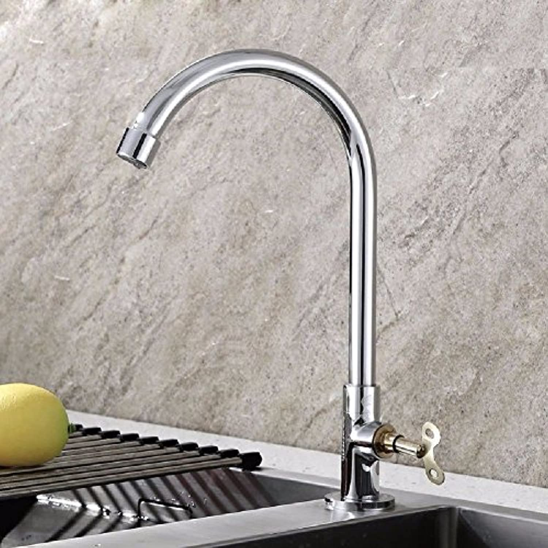 NewBorn Faucet Wasserhhne Warmes und Kaltes Wasser groe Qualitt der ffentlichen Sicherheit Schlüssel Leitungswasser Turm Küche Teller Sockel Messing Wasser S Tippen