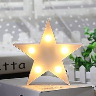 Veilleuse Chaud Creative Petite étoile en forme de lampe de bureau à LED de la nuit de la nuit de la décoration de la déco...