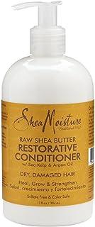 Shea Moisture Raw Shea Conditioner 13 Ounce (384ml) (6 Pack)