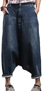 Zoulee 2018 New Women's Hip Hop Drop Crotch Ripped Harem Jeans Sreet Denim Pants Trousers