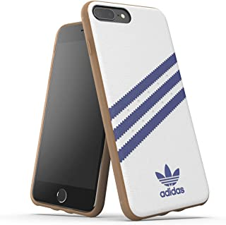 adidas Originals Moulded Case PU for iPhone 6+/6s+/7+/8+ - White/Collegiate Navy
