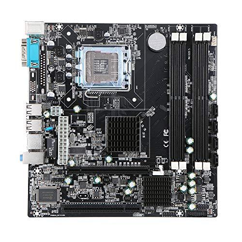Docooler Motherboard Mainboard Intel P45 Chipset SATA Port Socket LGA775 DDR DDR2 32GB