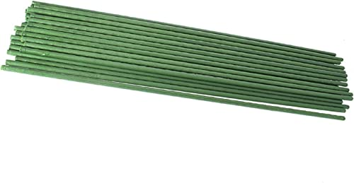 new arrival labworkauto Gardening Pillar Steel Pipe Green Plastic Coated high quality Garden Stakes Fit for Climbing Plants Potted Plants sale Gardening Support 25Pcs sale