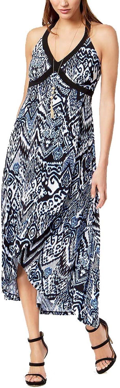 INC International Concepts I.N.C. Printed FauxWrap Dress