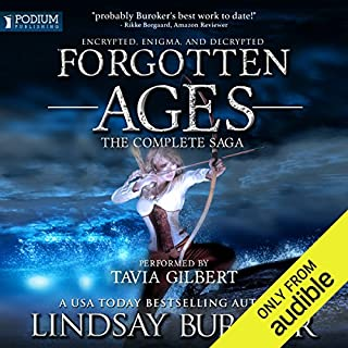 Forgotten Ages     The Complete Saga              By:                                                                                                                                 Lindsay Buroker                               Narrated by:                                                                                                                                 Tavia Gilbert                      Length: 23 hrs and 53 mins     88 ratings     Overall 4.5