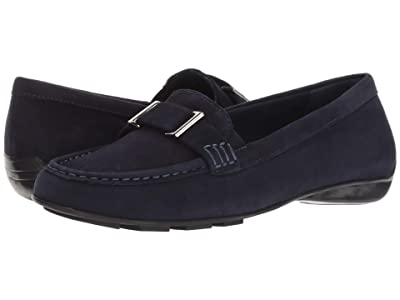 Walking Cradles March (Navy Suede) Women