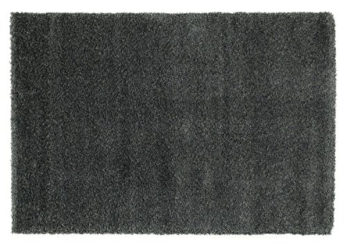 PANTHA SHAGGY hoogpolig langpolig tapijt donkergrijs, afmeting: 60x90 cm 200x200 cm grijs