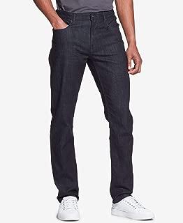 Mens Jeans 40X30 Slim Fit Five-Pocket Zip-Fly Stretch
