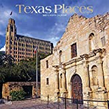 Texas Places2020 Square Wall Calendar (English, French and Spanish Edition)