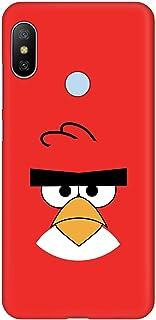Stylizedd Xiaomi Mi A2 Lite (Redmi 6 Pro) Slim Snap Basic Case Cover Matte Finish - Red - Angry Birds