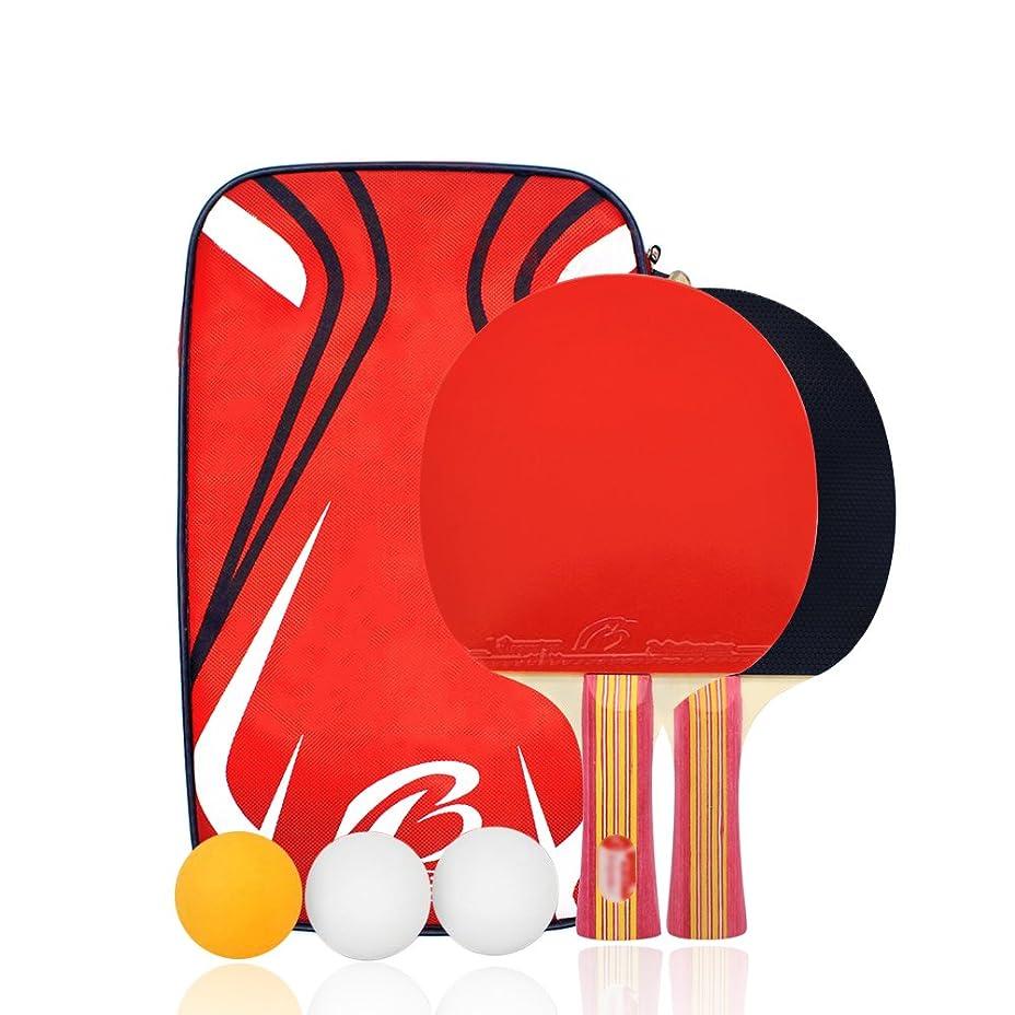 絶滅させるシビック脅かす卓球 ラケット ラケット2本 ピンポン球3個 卓球ネット 収納袋付き ボール 手軽 卓球用品 子供用 新入生応援セット 初心者向け