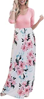Best floral print maxi dress with sleeves Reviews