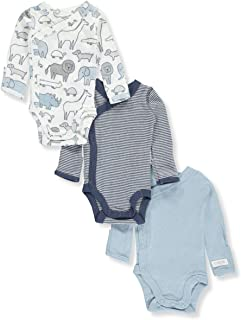Carter's Baby Boys' 3-Pack Striped Side Snap Bodysuits