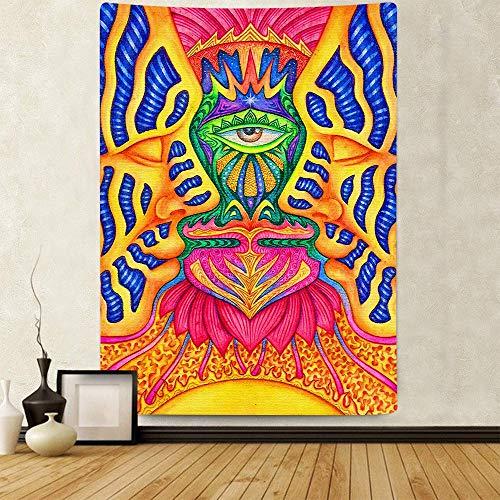 Puzzle 1000 Teile Bunte Augen der abstrakten Kunstmalerei des grünen Blattteppichs Puzzle 1000 Teile er Erwachsene Pädagogisches intellektuelles Dekomprimieren50x75cm(20x30inch)