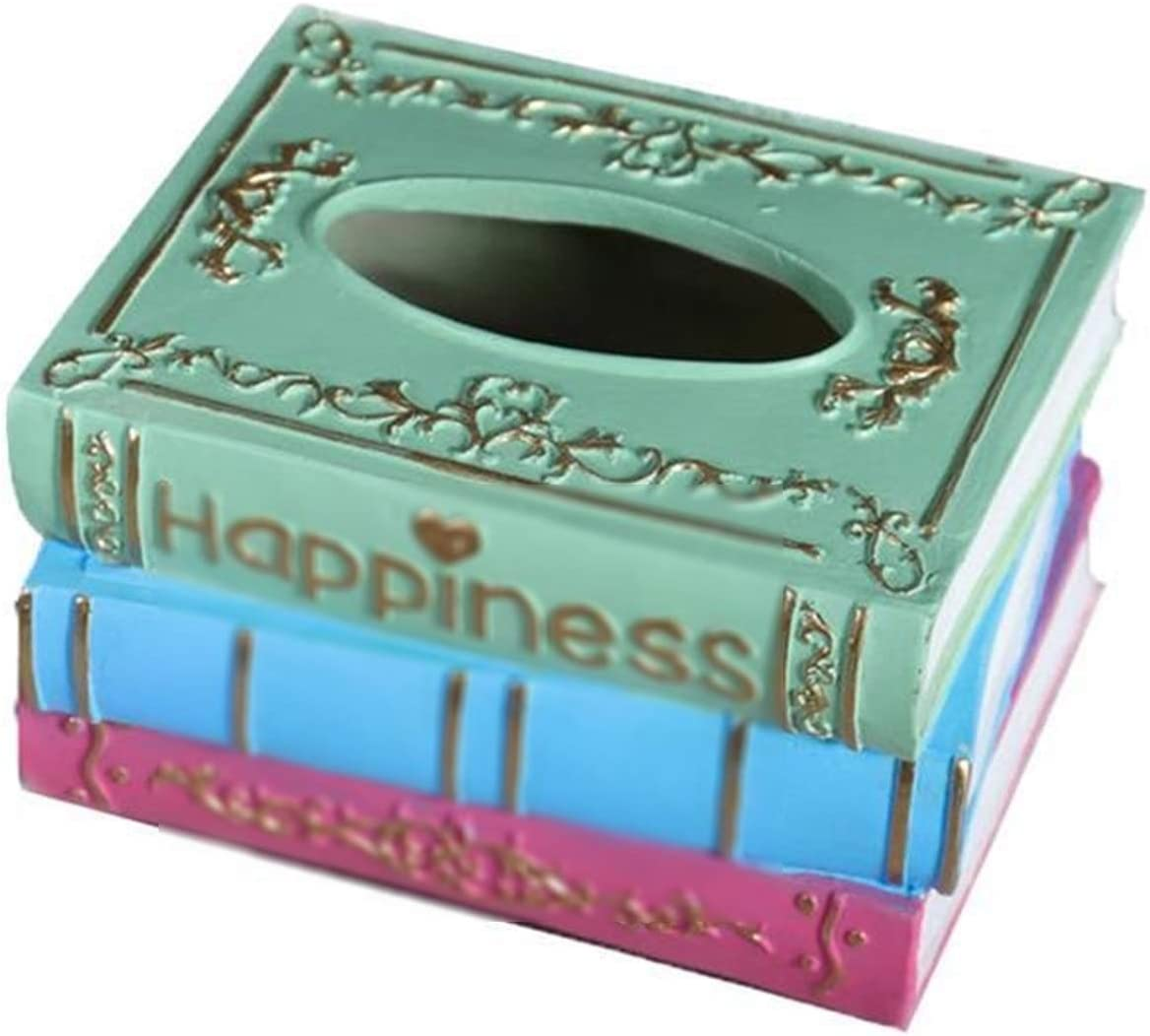 jianchi Retro Tissue Box Resin Over item handling Napkin Storage Los Angeles Mall Rectangl Container