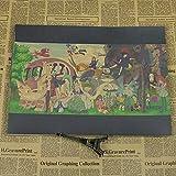 panggedeshoop Miyazaki Toshio Set Dibujos Animados Anime Animación Película Cartel Bar Dibujos Animados Decoración De La Habitación De Los Niños Pintura 40X50Cm -Sz3281