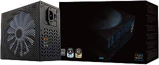 Aerocool P7650 - Fuente de alimentación modular para PC (650W, ATX, 12V, PFC Activo, iluminación RGB, ventilador inteligente ultra-silencioso 14 cm, 80 Plus Platinum, eficiencia + 90%), color negro
