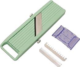 (Old Version, Green Nob Slicer) - Benriner Japanese Mandoline Slicer, Green, New.