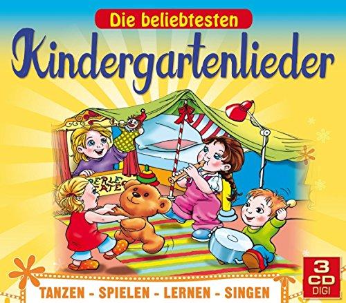 Die beliebtesten Kindergartenlieder zum Tanzen, Spielen, Lernen und Singen