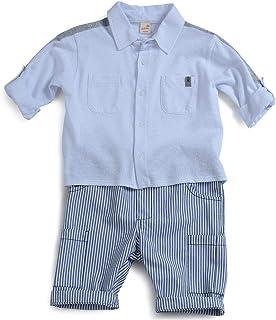 Conjunto Horizonte Green Branco - Toddler Menino