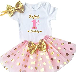 1st birthday personalized outfits