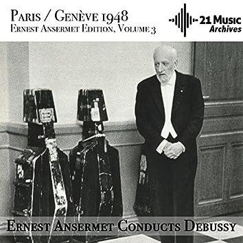 Ansermet conducts Debussy (Ernest Ansermet Edition, Vol. 3 - Paris/Genève, 1948)