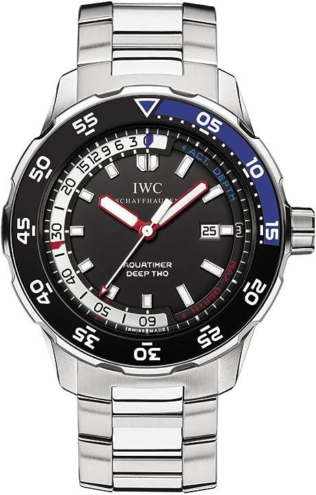 Orologio iwc iw354701 - orologio da polso da uomo, cinturino in acciaio inox