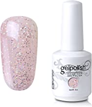 Elite99 Soak-Off UV LED Gel Polish Nail Art Manicure Lacquer Glitter Bisque 224 15ml