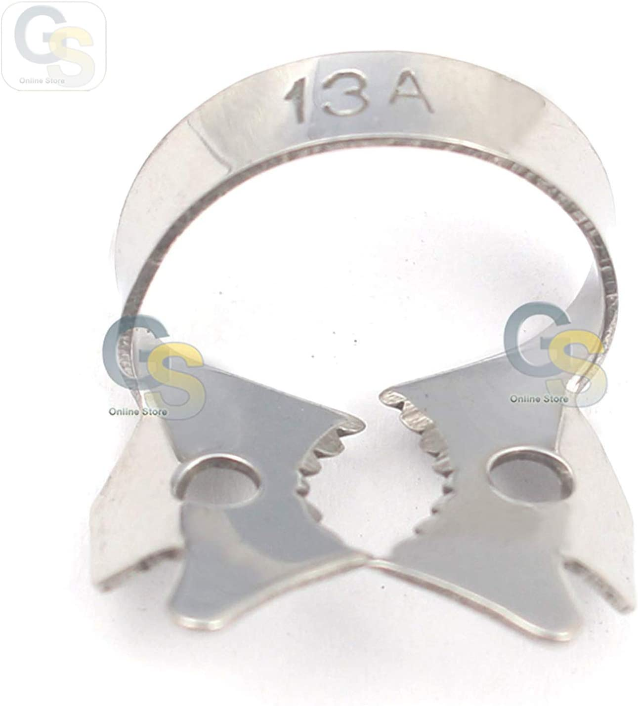 G.S Super beauty product restock quality top! Max 64% OFF Dental Instrument Endodontic Clamp Quality 13A Adult Best