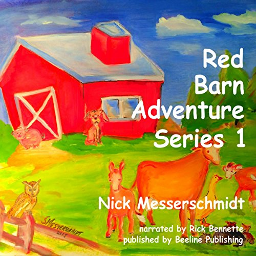 The Red Barn Adventure Series 1: Books 1 - 5 cover art