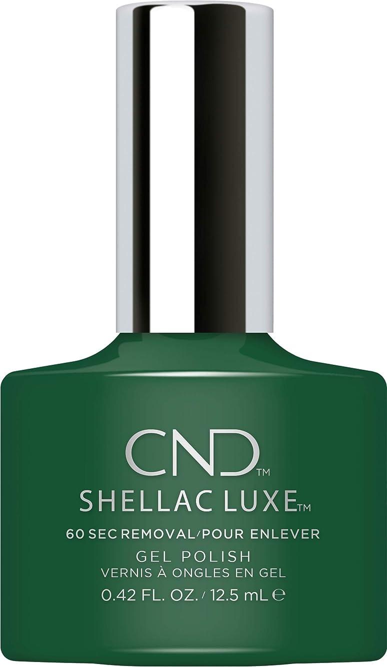 慢ギャロップ防衛CND Shellac Luxe - Palm Deco - 12.5 ml / 0.42 oz