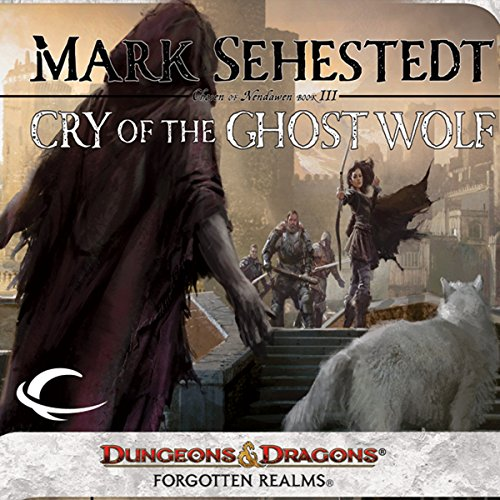 Cry of the Ghost Wolf audiobook cover art
