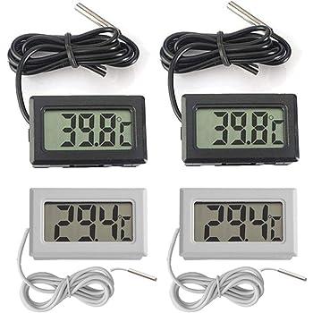 Yotino Lcd Digital Temperatur-Feuchtigkeitsmesser Mini Thermometer Tauchthermome