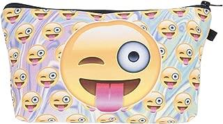 Kukubird Unicorn Emoji Flamingo Animals Design Make Up Bag Toiletry Cosmetics Wash Bag Wallet School Organiser Pouch