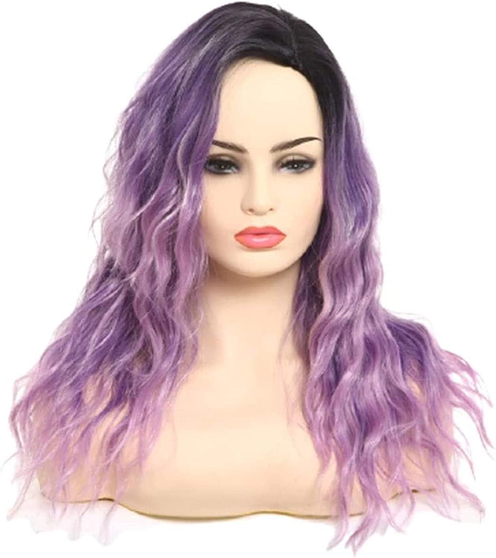 HTDYLHH Same day shipping Beautiful Wigs Wig Women's Curl Large Long cheap Wavy Big
