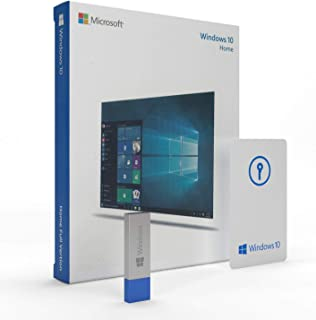 Windows 10 Home 64 bit | USB Flash Drive | English | FPP | Windows 10 OS Home 64 bit / 32 bit