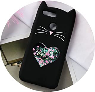 Cat Case for Huawei Mate 20 Pro 10 Lite Cases for Huawei P20 P10 Plus P9 P8 Lite Covers Coque Honor 9 7C V9 7X 6X V10,Sky Blue,Mate 20 Pro