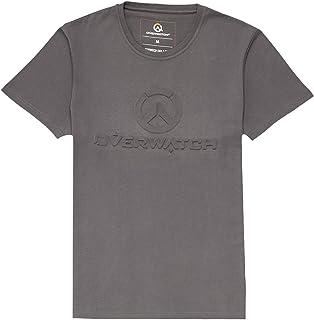 Overwatch T-Shirt Pour Hommes Remorseless sans remords Elbenwald Noir Coton