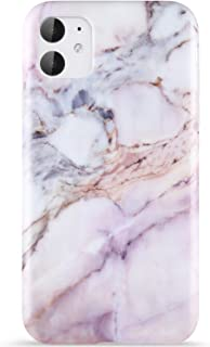 ZADORN iPhone 11 Case for Girls Women Cute Pink Purple Marble Design,Slip Resistant Clear Bumper Soft Silicone TPU Thin Cover Slim Fit Protective Phone Case for iPhone 11 6.1 inch 2019