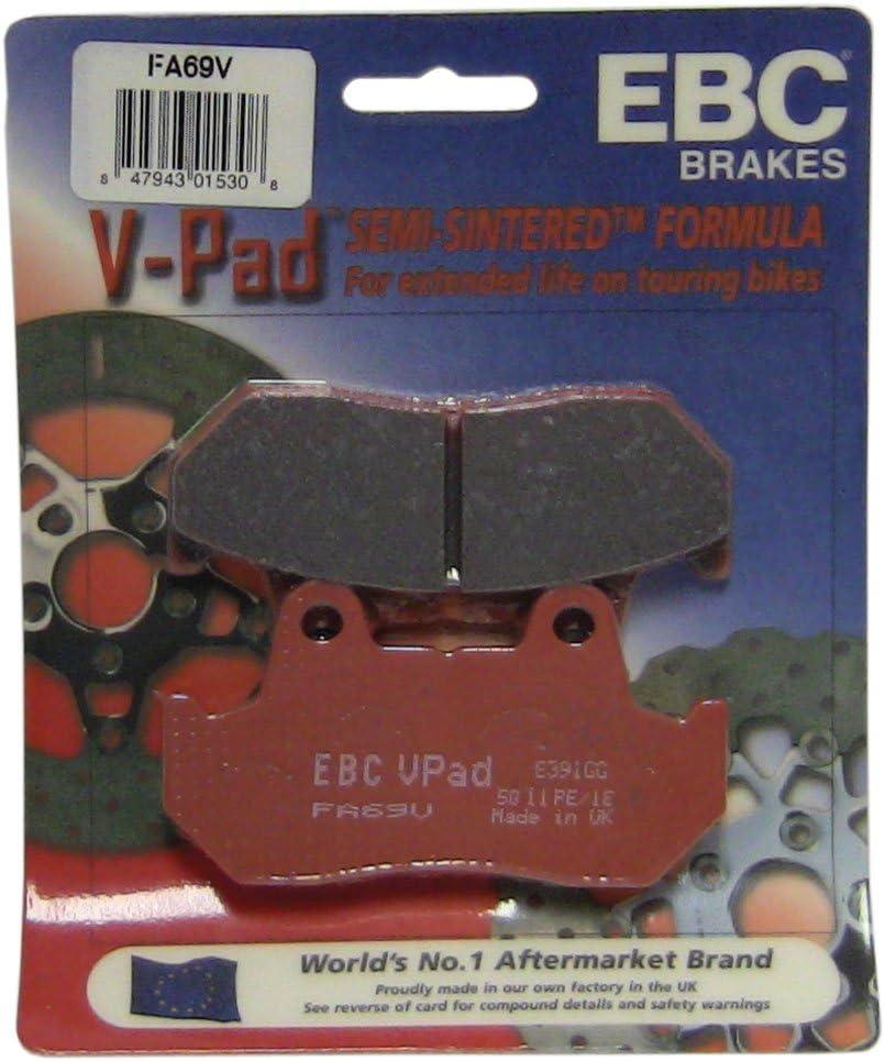 Brand Cheap Sale Venue EBC Fresno Mall Brakes FA69V Semi Disc Pad Sintered Brake