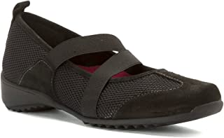 Zip Black Combo 7 M Womens Walking Shoe