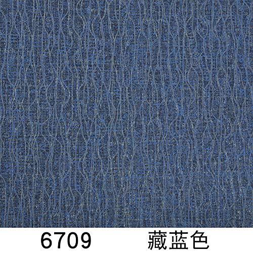 ACCEY Papel pintado a rayas azul marino mediterráneo color pigmentado puro tela no tejida minimalista moderna sala de estar fondo papel de pared Nordic-6709 azul oscuro solo fondo de pantalla